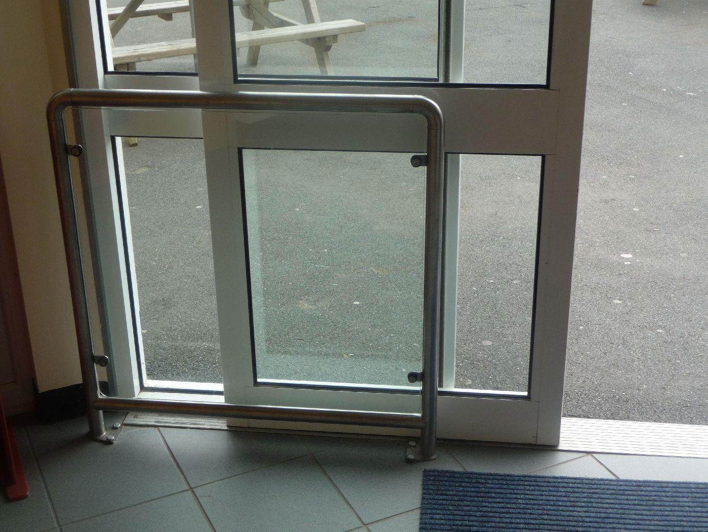 Sliding door sliding door screen protector for Sliding glass door screen